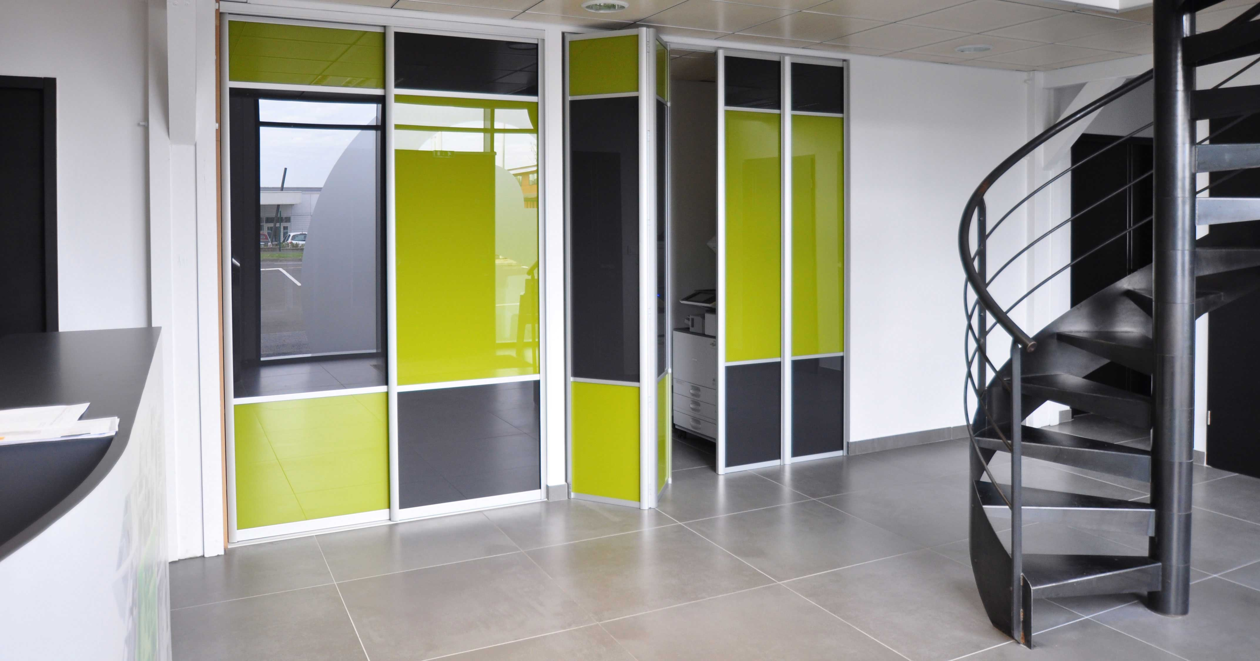 Porte De Séparation Pliante portes pliantes - placardstyl